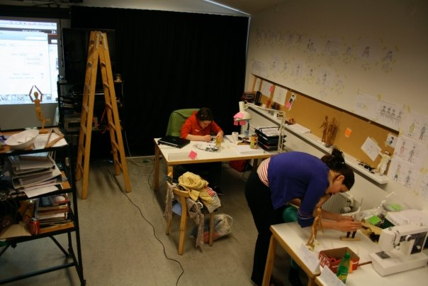 Shot from the animation studio